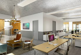 office space on newbury street 531