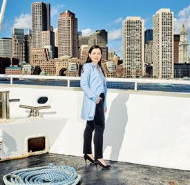Alison Nolan. Boston Harbor