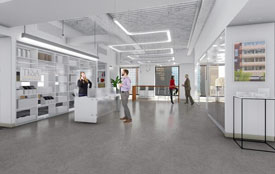 Green and environmentally safe office buildings in Boston