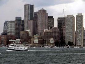 Boston waterfront ferry