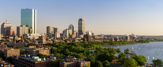 Office towers in Boston