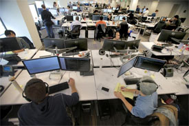tech employees in Boston