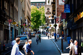 Bromfield street in Boston