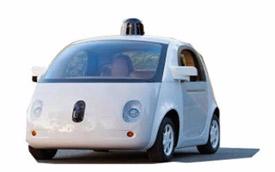 Driverless car rendering