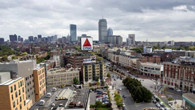 Kenmore Square in Fenway