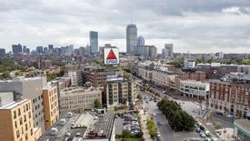 Fenway office buildings in Boston