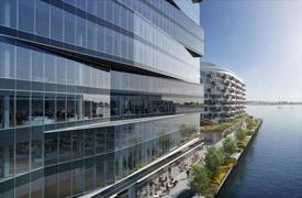 rendering of 130-140 northern avenue office building