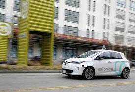 Self-driving car in Boston