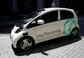 Self Driving taxi from Cambridge start-up