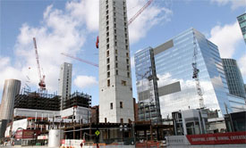 new office space in boston seaport is constructed