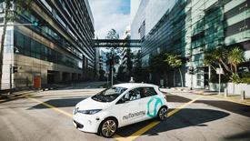 Self-driving cars in Boston Seaport