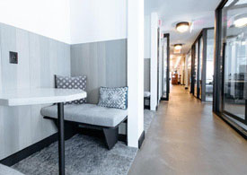 WeWork office space near South Station