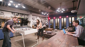 WeWork South Station shared office space