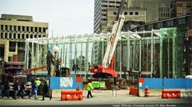 MBTA Govt. Center being remodeled