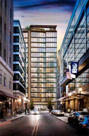 Millennium tower in boston rendering